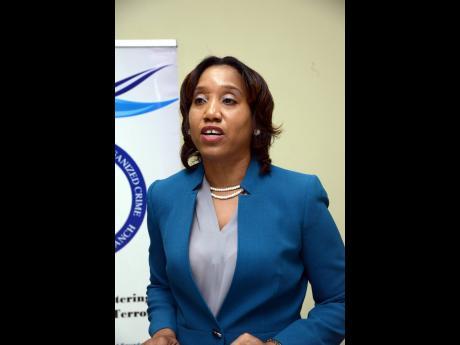 Commissioner of Customs Velma Ricketts Walker.