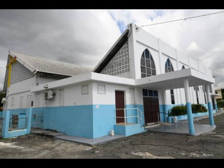 Father Ernle Gordon pastored the congregation at St Mary's Anglican Church, at the intersection of Molynes Road and Washington Boulevard, for many years.