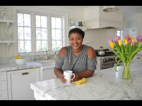 The mastermind behind Greedy Girl Cooks, Chantay Campbell Neil.