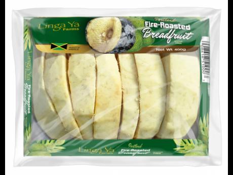 Linga Ya Farms roasted breadfruit.Linga Ya Farms roasted breadfruit.