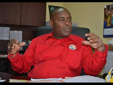 Portmore Mayor Leon Thomas.