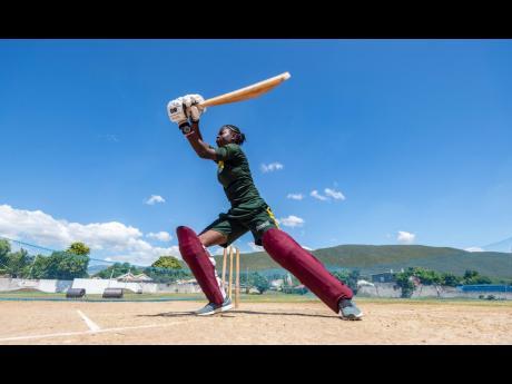 Jamaica women's cricket team player Rashada Williams.