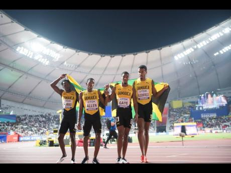 Both Garth Gayle and Donald Quarrie will be seeking to protect Jamaica's sprinting heritage as they vie for the presidency of the Jamaica Athletics Administrative Association at its Annual General Meeting at the National Arena this morning.