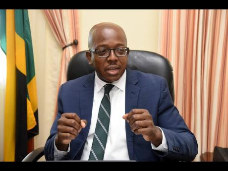 Pearnel Charles Jr, minister of housing, urban renewal, environment and climate change, says he has no problem sharing elements of his portfolio with Prime Minister Andrew Holness.