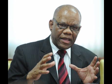 Jamaican high commissioner of the United Kingdom, Seth George Ramocan.