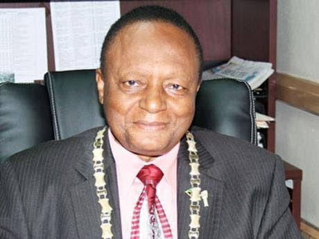 Portmore's first mayor, George Lee