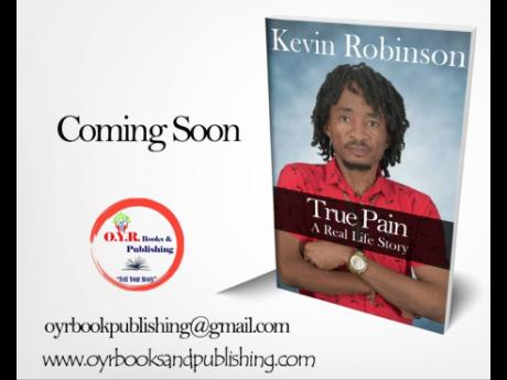 The cover of Kevin Robinson's soon-to-be-released book.