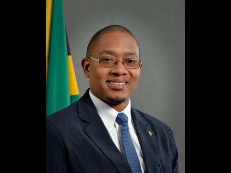 Minister of Agriculture and Fisheries Floyd Green.