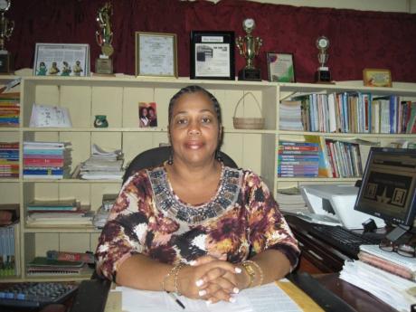 Knox Junior School Principal Constance Malcolm.