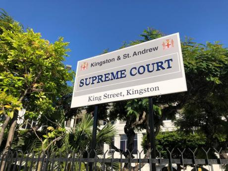 Supreme Court, King Street, Kingston.