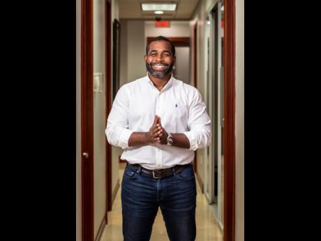 Kadion Preston, co-founder and CEO of Caribshopper.