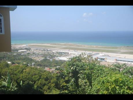 A view of the Sangster International Airport in Montego Bay, St James.
