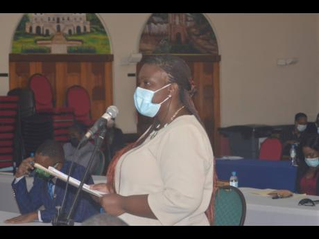Sherika Lewis, the acting chief public health inspector for St James.