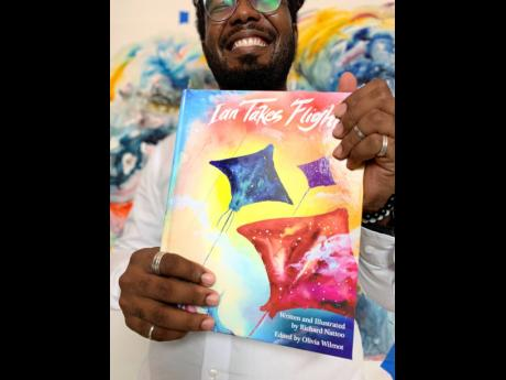 Nattoo recently launched his first children's book titled 'Ian Takes Flight'.