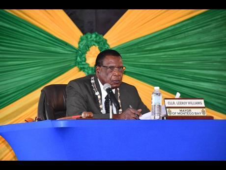 Leeroy Williams, mayor of Montego Bay.
