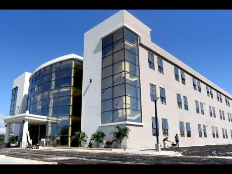 A newly built BPO centre along Municipal Boulevard is an example of the growth prospects for Portmore. The Holness administration has pledged to have Portmore designated as Jamaica's 15th parish.
