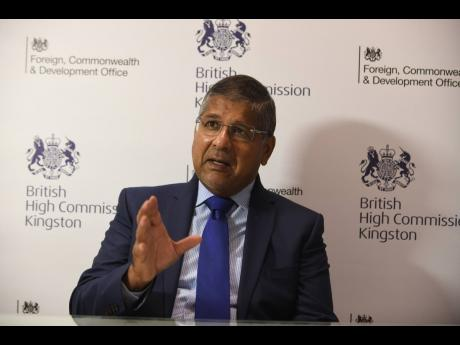 British High Commissioner Asif Ahmad says Jamaica is within its right to impose COVID-19 travel restrictions on any country.