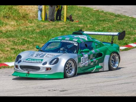 The turbocharged Lotus Elise of Bajan Stuart Williams was always a crowd favourite, whenever it graced our shores.