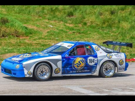 Paul Viera's Mazda RX7 from Guyana.