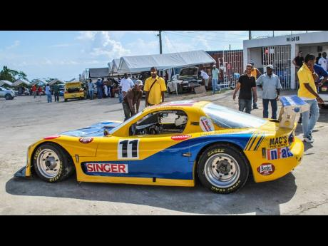 Another Guyanese who loved the Dover Racetrack was Andrew King in his flame-belching Mazda RX7.