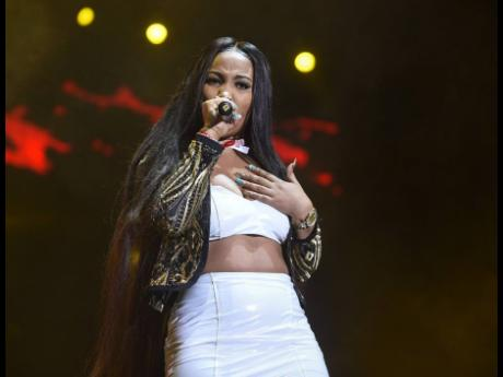 Shenseea was the only woman on Youtube's top-ten list of top dancehall acts.