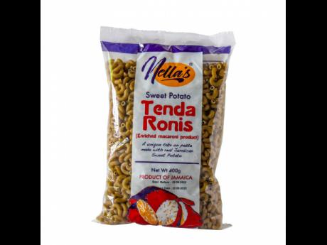 Nella's Tendaronis boasts reduced-gluten components and is made from locally grown sweet potatoes.