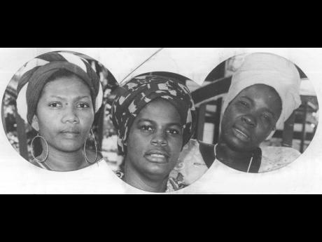 The I-Three (from left), Marcia Griffiths, Judy Mowatt and Rita Marley. Mowatt says they were often told that the song 'Three Little Birds' was written for the three members of the group.