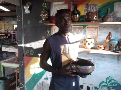 Trench Town artisan Garfield Williams discusses the process behind making one of his creations.