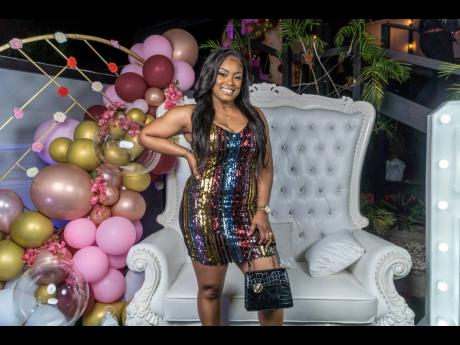 Beautiful Beginning's CEO, Chevelle Blackwood, adds fashionable pops of sequin and colour to the dress code.
