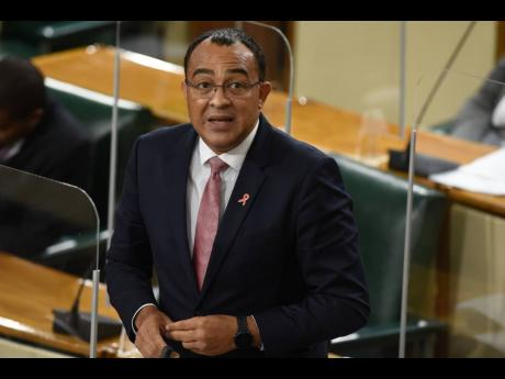 Health and Wellness Minister Dr Christopher Tufton.