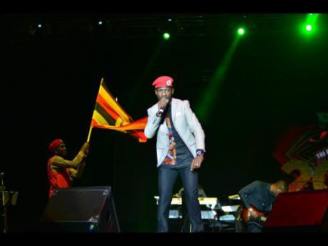 Uganda activist/entertainer Bobi Wine.