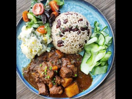 Chef Noel Cunningham's tasty beef stew.