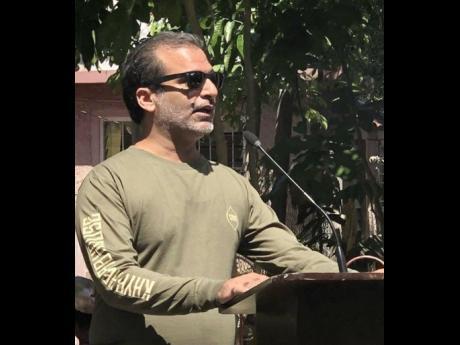 Balram Vaswani, head of Kaya Jamaica.