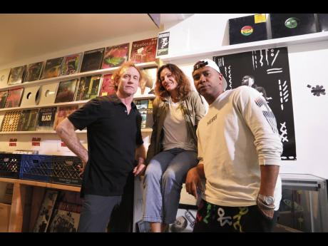 From left: Delicious Vinyl Island principals Mike Ross, Leslie Cooney and Adrian Miller.