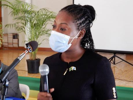 Dr Tameka Henry, medical officer of health for St Ann.