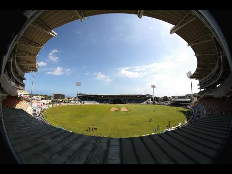 Sabina Park, Kingston, the home of international cricket in Jamaica.