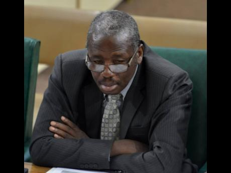 Dr Alwin Hales, permanent secretary in the Ministry of Transport and Works.