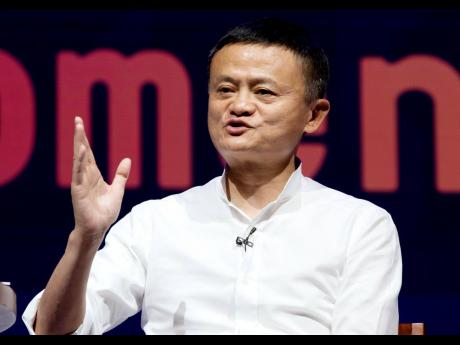 AP In this October 12, 2018 file photo, Chairman of Alibaba Group Jack Ma speaks during a seminar in Bali, Indonesia.