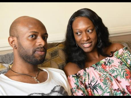 Luton Shelton and wife, Bobbette, at their Upper St Andrew home on Thursday, October 11, 2018.