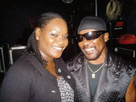 Toots and the Maytals background singer Latoya Hall-Downer.