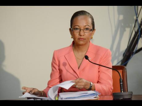 Permanent Secretary in the Ministry of Labour and Social Security, Colette Roberts Risden.