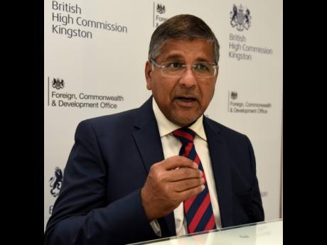 Asif Ahmad, British high commissioner to Jamaica.