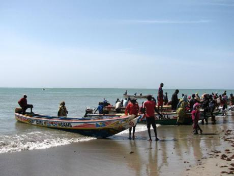 A Adaptation Fund Direct Access project in Senegal implemented by CSE -- Senegal enhanced coastal management, sea rise protections, fishing docks, canals and diversified livelihoods.