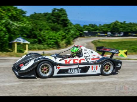 William Myers in his super fast Radical SR3.