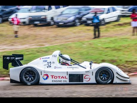 Veteran and crowd favourite, David Summerbell in his Radical SR8 rumoured to be piloted by a younger version of him when racing resumes.