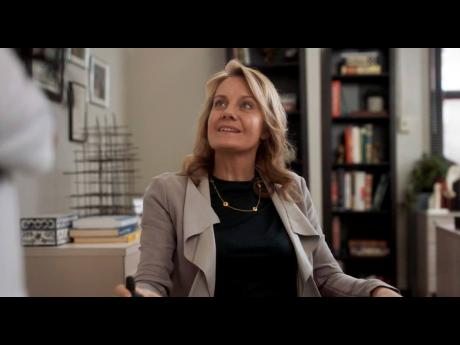 Actress Eileen Grubba in a scene from 'New Amsterdam'. NBCUniversal said Friday that actors with disabilities will be included in auditions for all new productions, an agreement sought by the Ruderman Family Foundation, a disability rights advocate. G