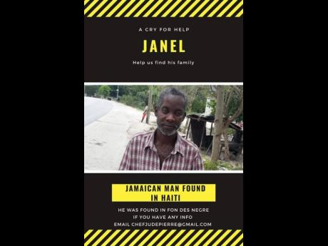 Janel, said to be Jamaican, found in Haiti.