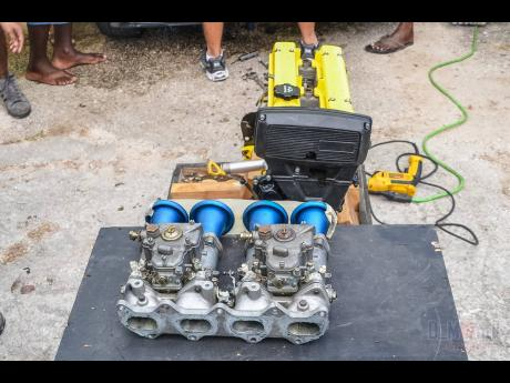 A pair of side draught Webbers on a 4AGE engine is music to the ears of any veteran motorsports spectator.