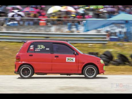 Denniston Graham and his Daihatsu have proven that you don't need a ton load of power to have fun on the race track.