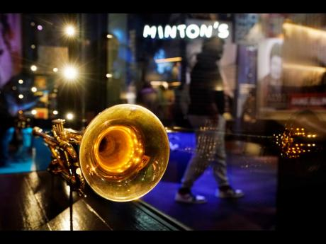 A trumpet belonging to Louis Armstrong is displayed at the National Museum of African American Music. The museum has 1,600 artifacts in the collection, which also includes clothes and a Grammy Award belonging to Ella Fitzgerald, and a guitar owned by B.B.